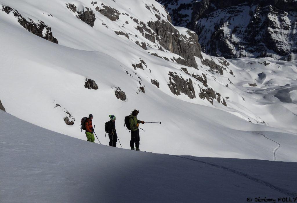 Cours avalanche Sébastien Monney
